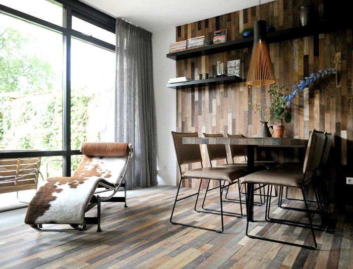 dining room wooden wall decor ideas 3