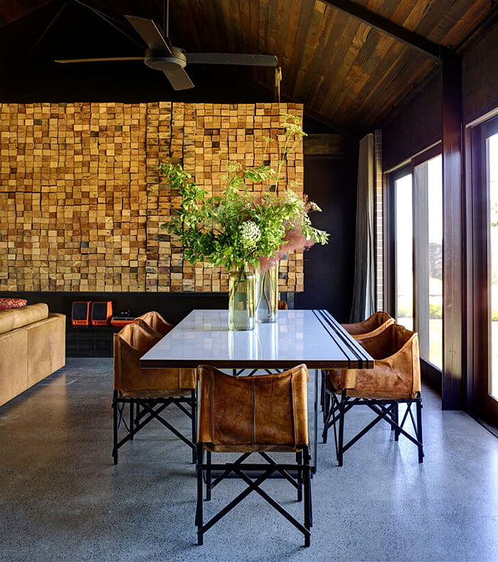 dining room wooden wall decor ideas 4
