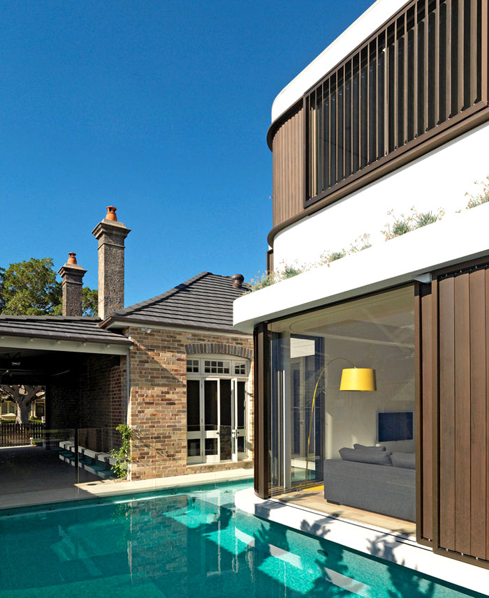 extension added classic cottage australia 16