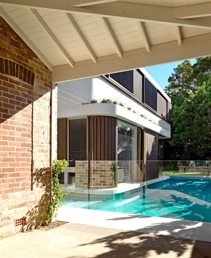 extension added classic cottage australia 17