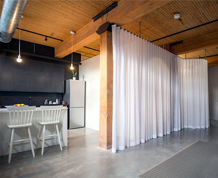 small loft apartment studio ac 1