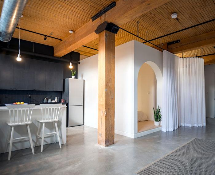small loft apartment studio ac 3