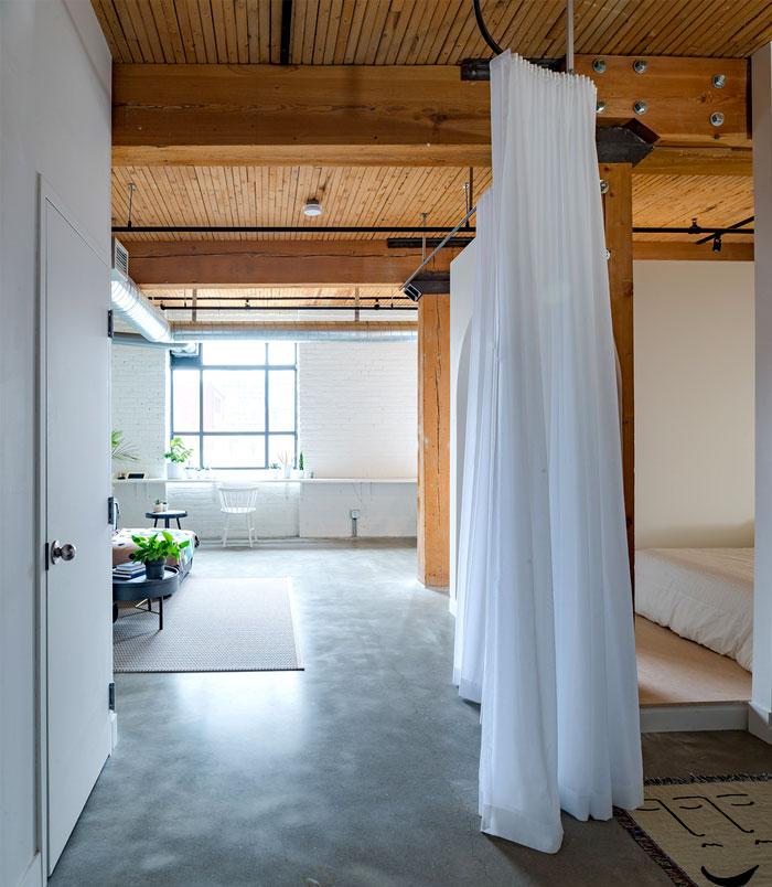 small loft apartment studio ac 5