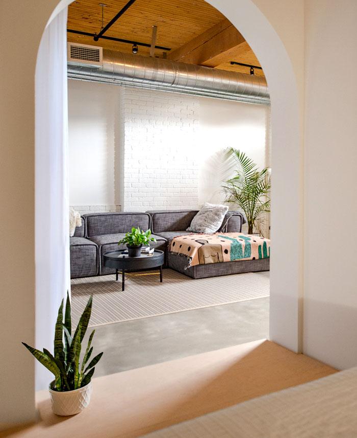 small loft apartment studio ac 6