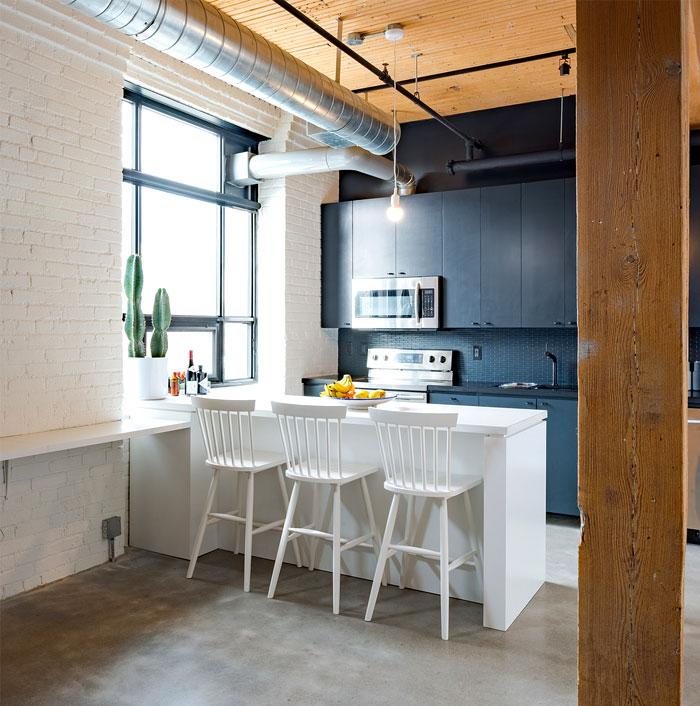 small loft apartment studio ac 7