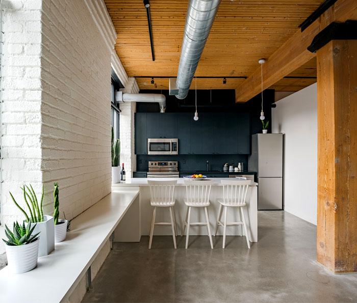small loft apartment studio ac 8