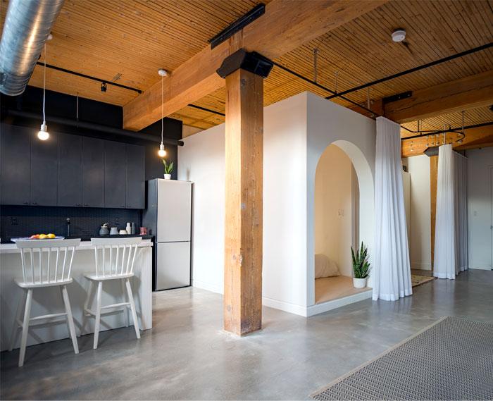 small loft apartment studio ac 9
