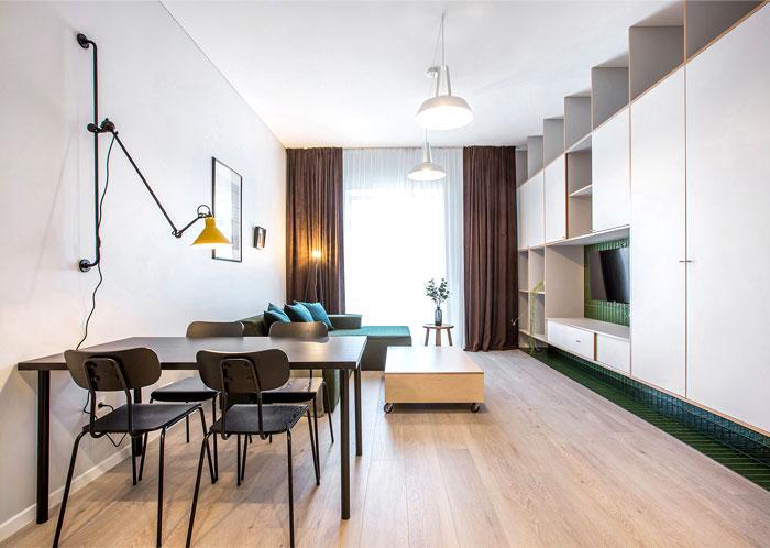 studio apartment vilnius simona vilute 14