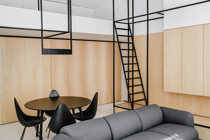 mus architects apartment cracow 15