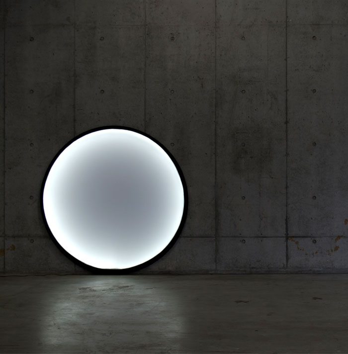 collapsible moon lamp pallucco 66