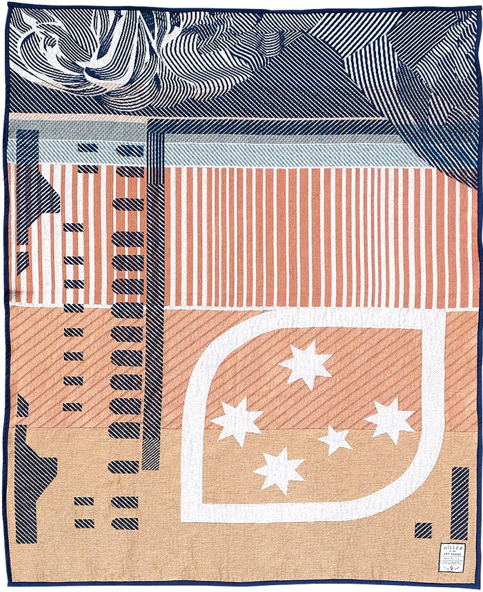 hiller dry goods colorful patterns bills blanket 7