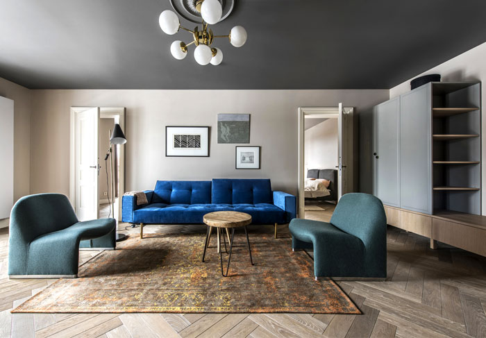 Apartment That Nails The Modern Classic Look Interiorzine