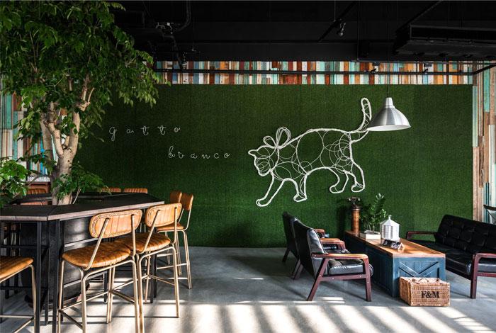gatto bianco ris interior design 6