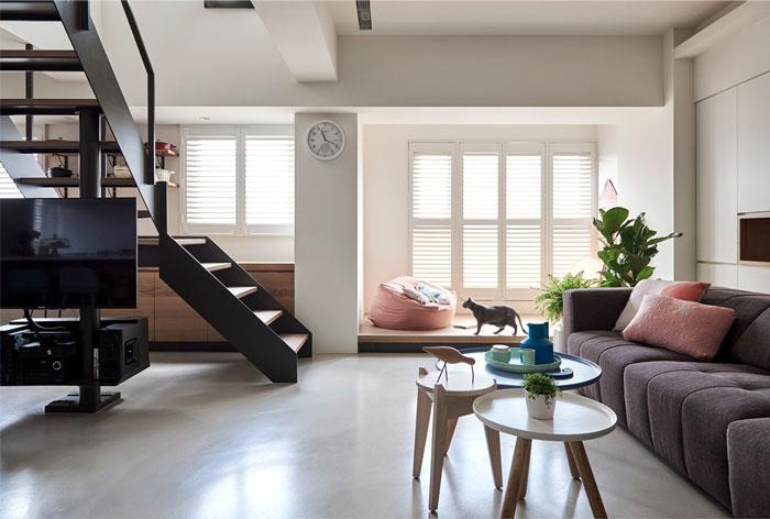 apartment parti design studio 12