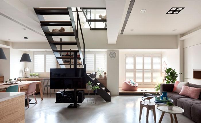 apartment parti design studio 15