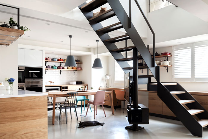apartment parti design studio 9