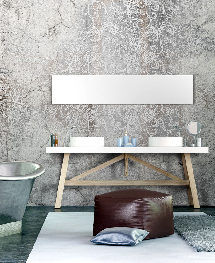 Wall Covering Suitable To Bathrooms Interiorzine