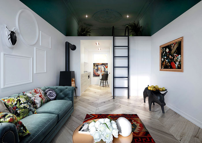 50 Small Studio Apartment Design Ideas (2019) – Modern, Tiny ...