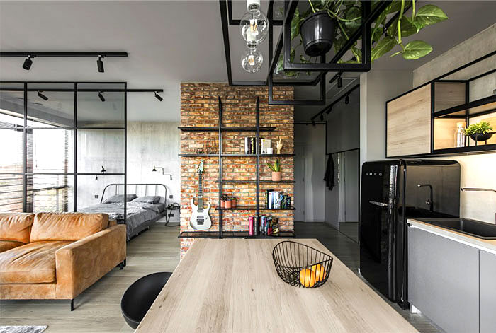 50 Small Studio Apartment Design Ideas 2019 Modern