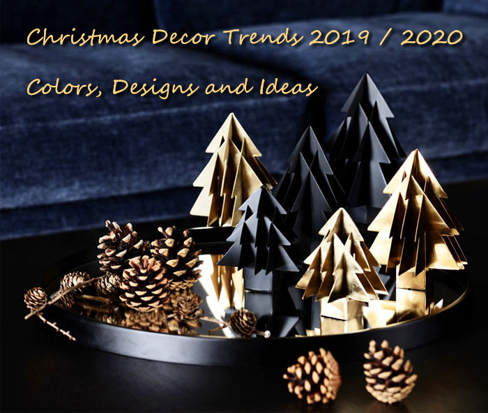 9 Home Decor Trends To Follow In 2019: Modern Christmas Decoration 2018