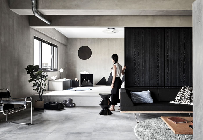 Industrial Decor And Japanese Lifestyle Interplay In
