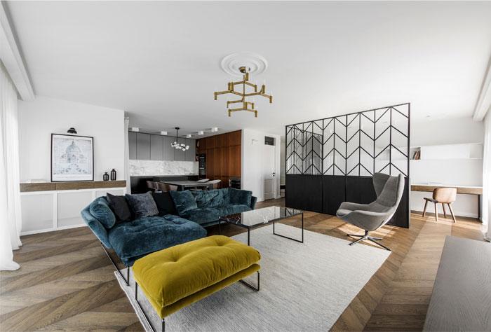 Luxury Apartment with Signature Interior Design by Interjero ...