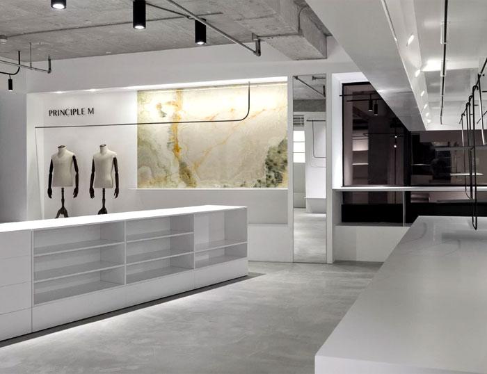 showroom decor minimalist furniture mddm studio 2