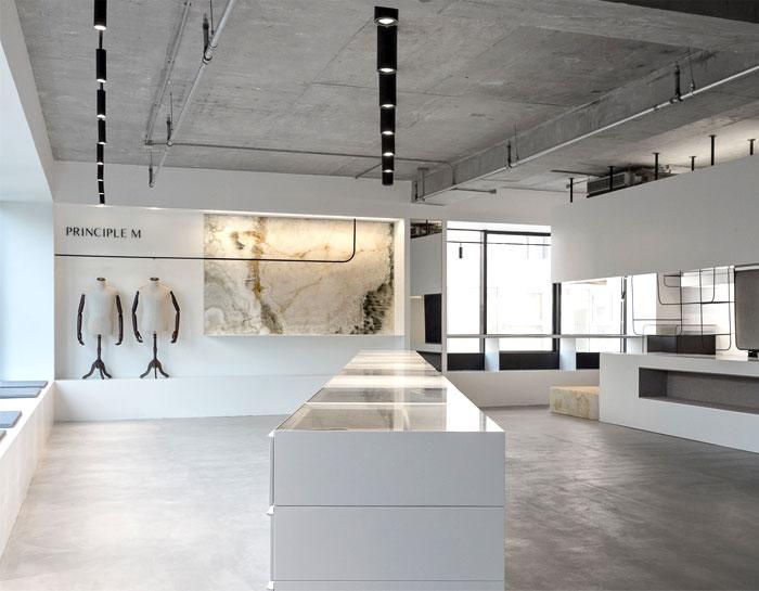 showroom decor minimalist furniture mddm studio 4