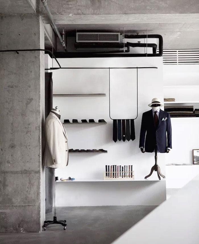 showroom decor minimalist furniture mddm studio 5