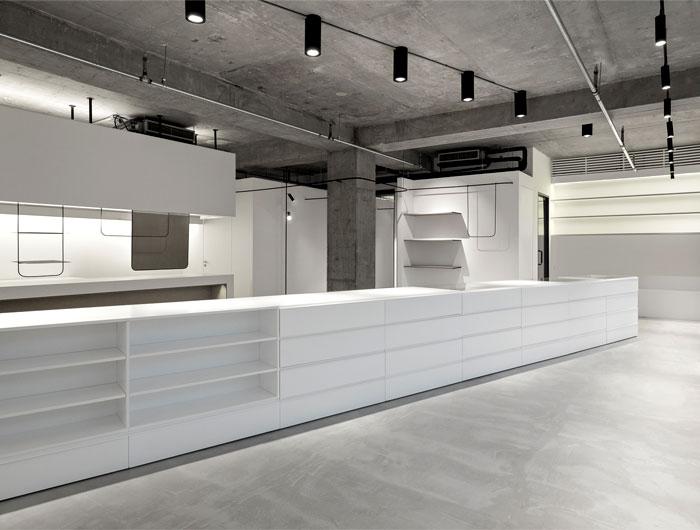 showroom decor minimalist furniture mddm studio 7