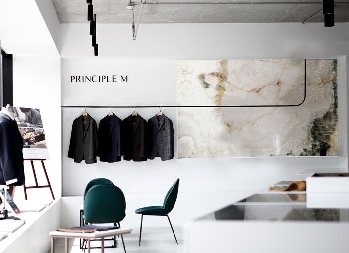 showroom decor minimalist furniture mddm studio 8