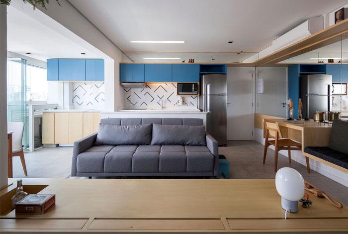 small space apartment estudio bra 3