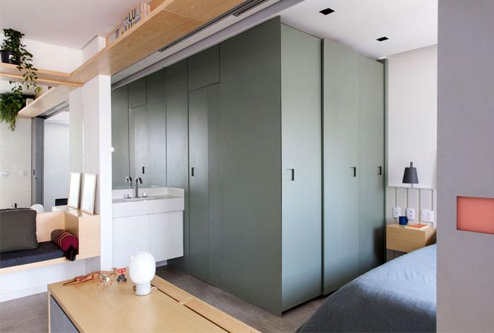 small space apartment estudio bra 5