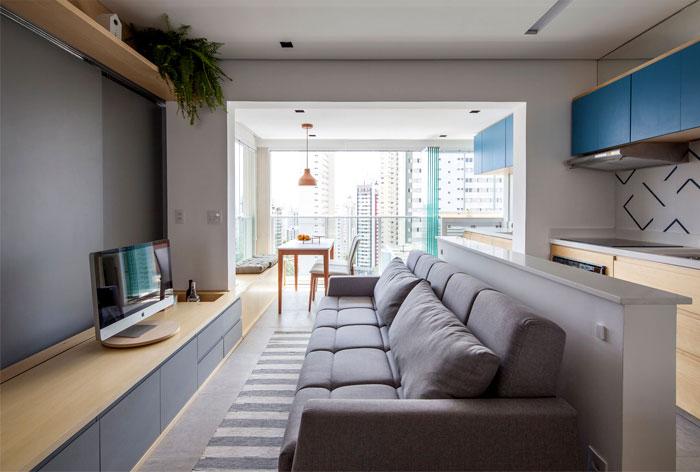 small space apartment estudio bra 7