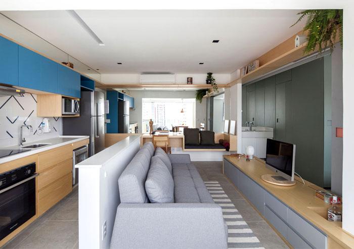 small space apartment estudio bra 8