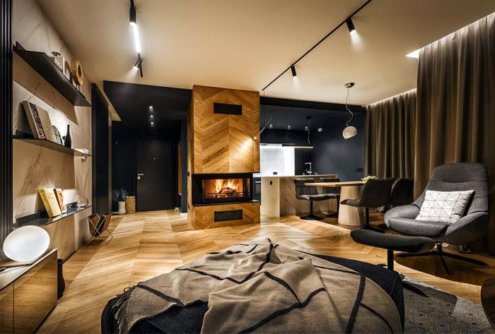 ultra modern apartment all in studio 4