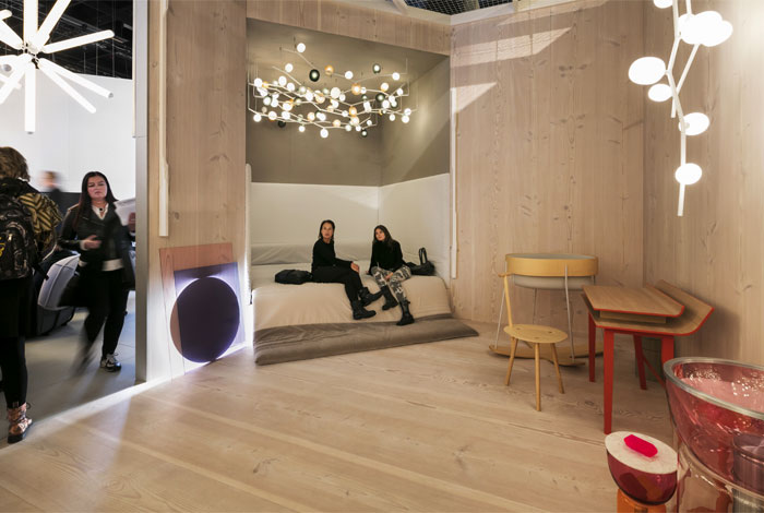 Lucie Koldova Designed Das Haus Interiors On Stage At Imm Cologne
