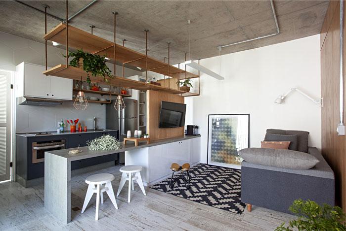 small studio apartment sao paulo 15