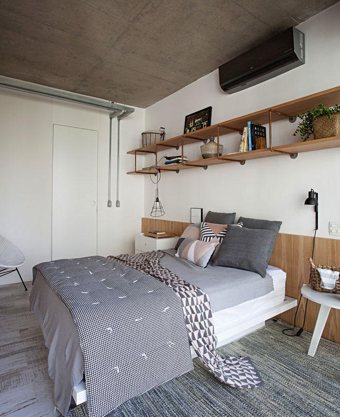 small studio apartment sao paulo 8