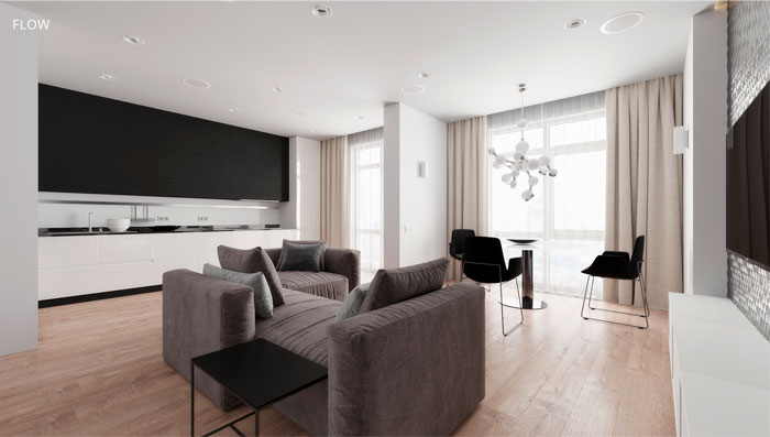 moscow apartment flow project 1