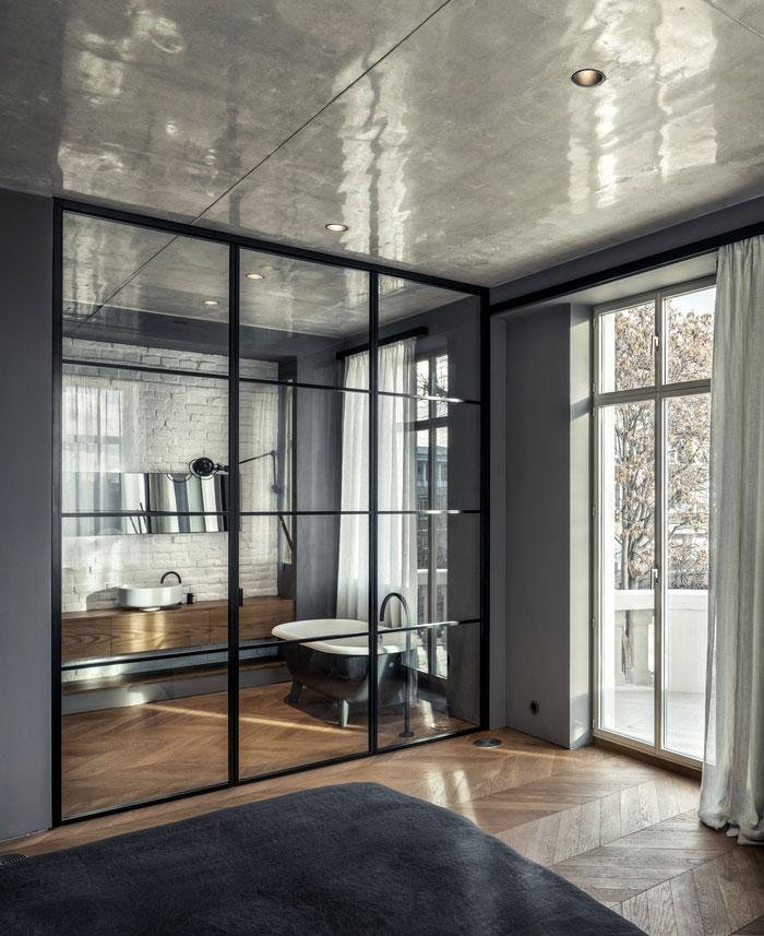 white concrete old house io architects 8