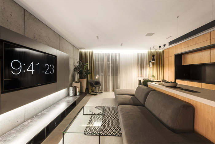 apartment designe hi light architects 19