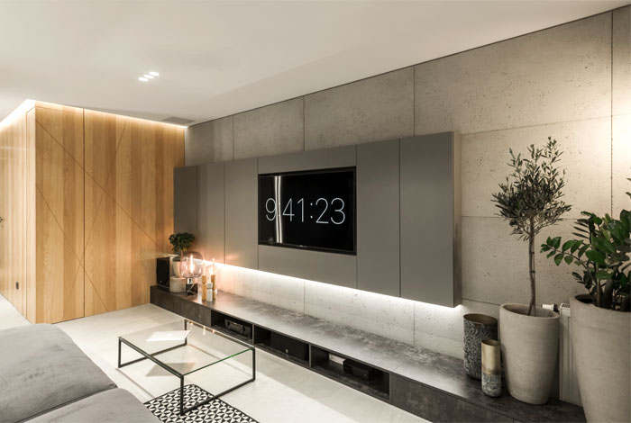 apartment designe hi light architects 20