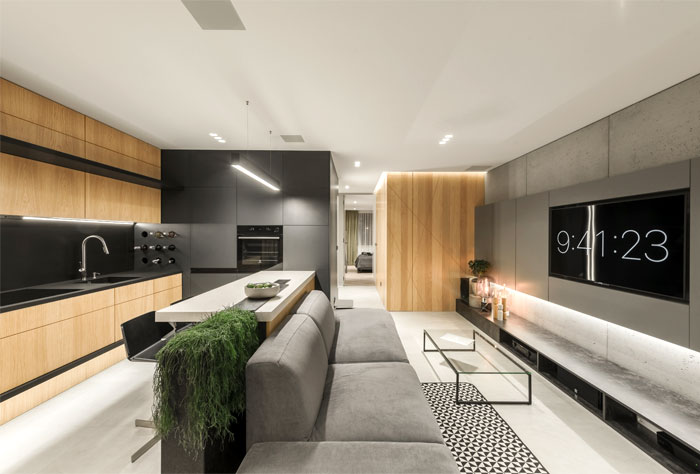 apartment designe hi light architects 24
