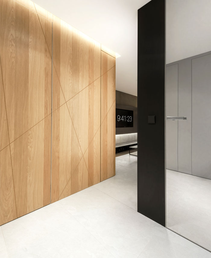 apartment designe hi light architects 7
