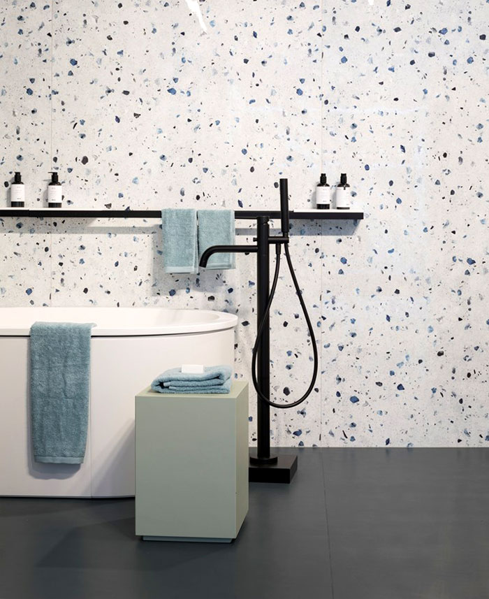 bathroom interior design trends terrazzo