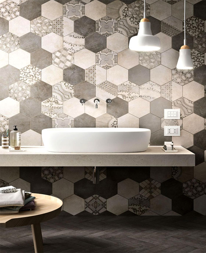 bathroom trends avoid hexagonal tile