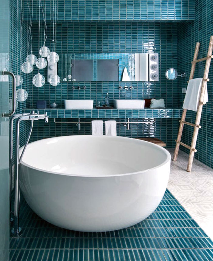 bathroom trends avoid too much tiles