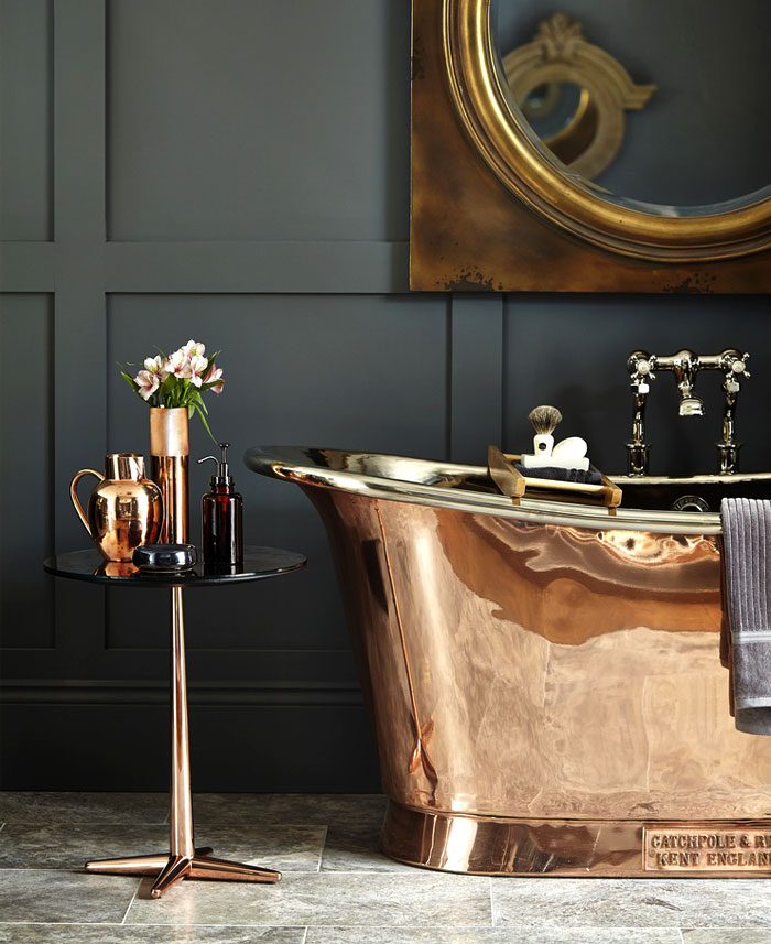 bathroom trends to avoid copper