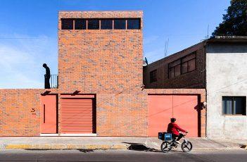 Low Budget Brick House by Dosa Studio